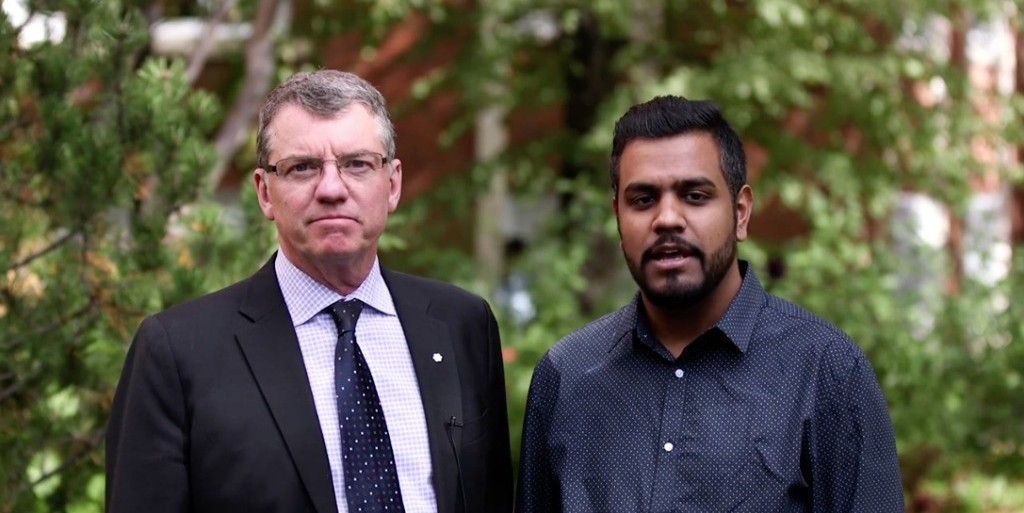 "UAlberta President David Turpin and Indian Students' Association President Radvinder Bhardwaj encourage the campus community to ""make it awkward"" when they encounter racism."