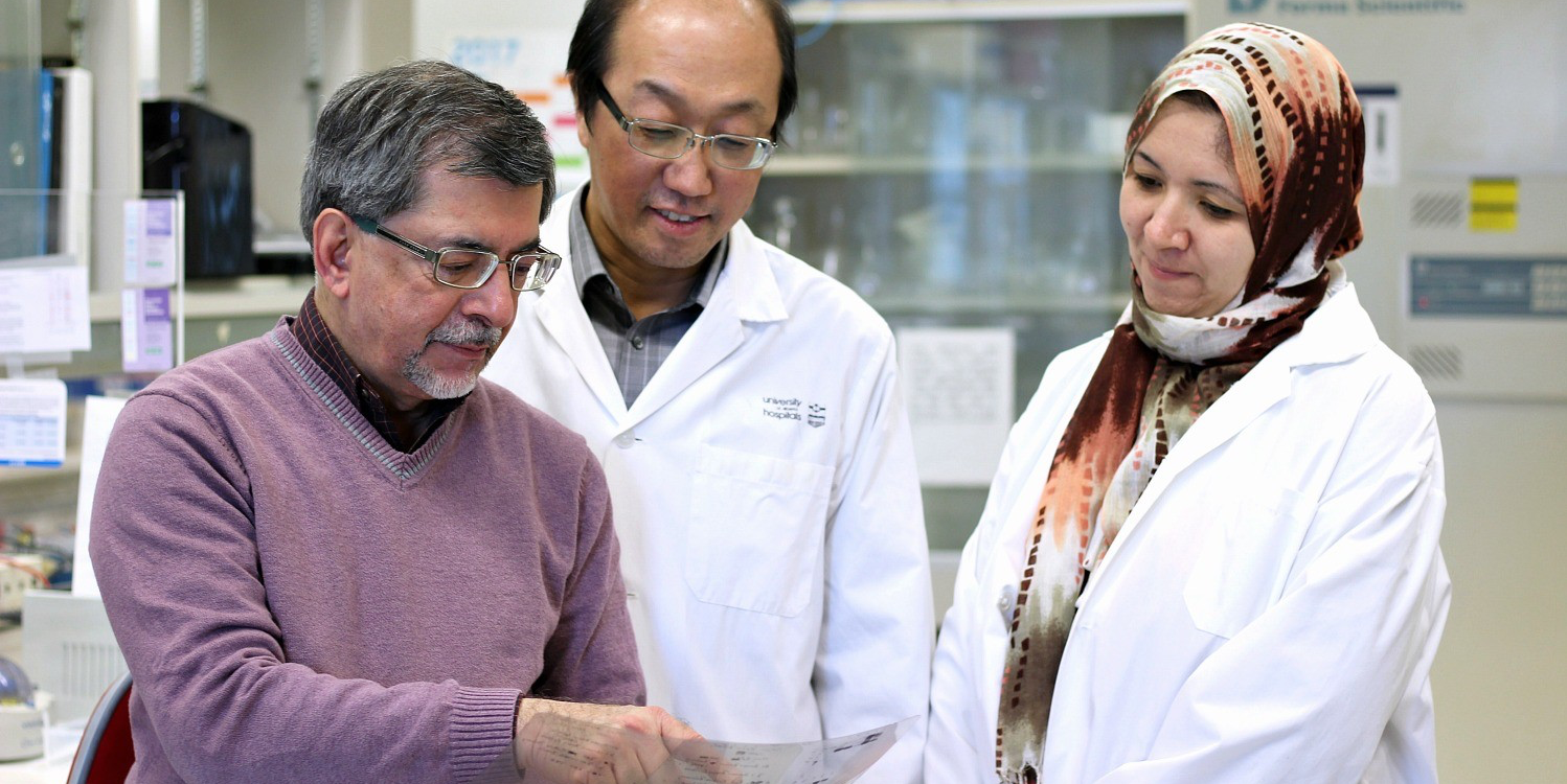 UAlberta researcher Jack Jhamandas and his team are testing a way to inhibit a protein called amyloid which is suspected of being a key player in the development of Alzheimer's disease.