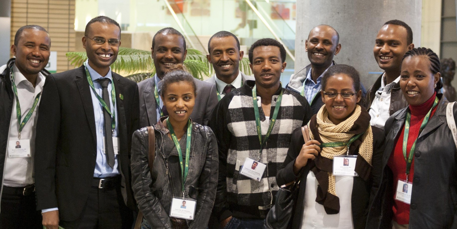 Visiting health professionals from Ethiopia.