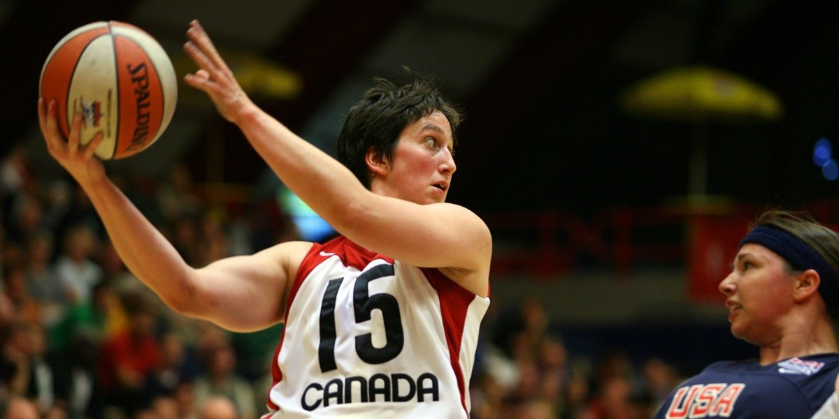 Danielle Peers competed for Team Canada in wheelchair basketball from 2003 to 2008, winning bronze at the 2004 Paralympic Games in Athens. She was named World's Most Valuable Player at the world championships in 2006. (Photo: Wheelchair Basketball Canada)
