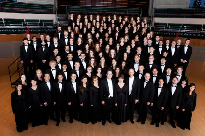 Community leaders: the U of A Mixed Chorus (Photo: Ken Chow Photography).