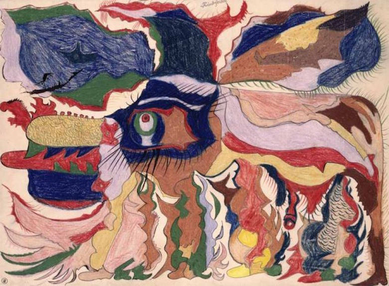 Duncan says disability arts offers a better framework for reappraising works of so-called outsider art, such as Gaston Duf's Rinôcêrôse (pictured above).