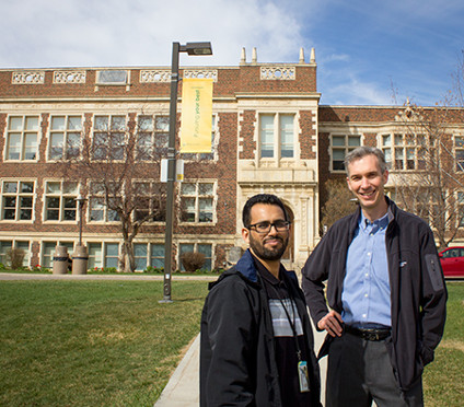 Fahad Algarni and Doug Gross (Photo: Bryan Alary).