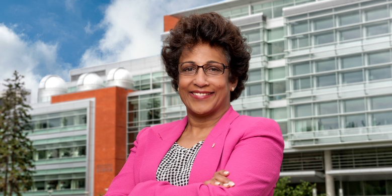Indira Samarasekera, president of the University of Alberta.
