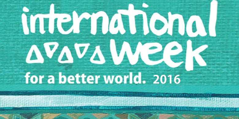 International Week 2016 features more than 50 events running January 25-31. This year's theme is tied to the UN's new Sustainable Development Goals to achieve by 2030.