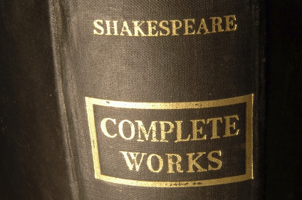 It is estimated that Shakespeare's works are performed somewhere in the world every minute.