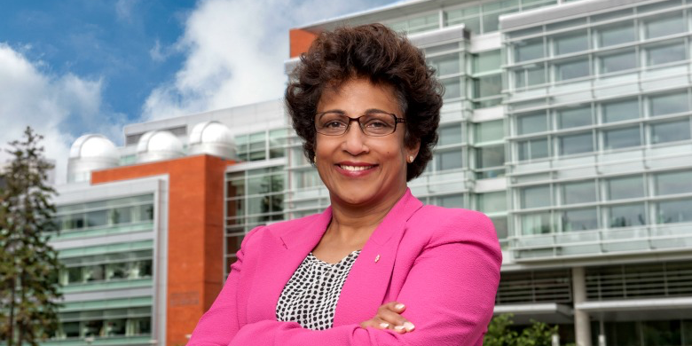 President Indira Samarasekera is to receive the 2015 UBC Engineering Lifetime Achievement Award. (Photo: Richard Siemens)