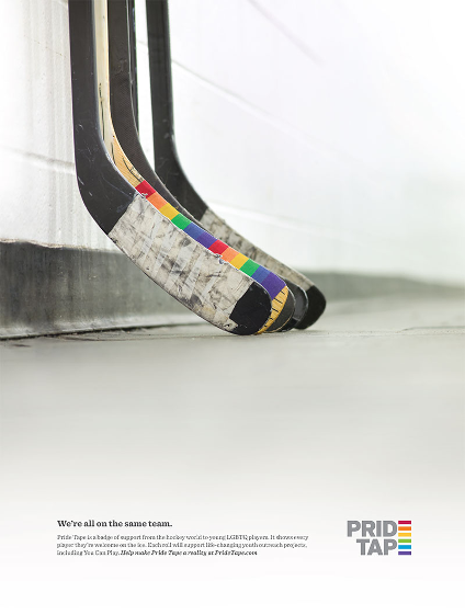 Promotional poster for Pride Tape