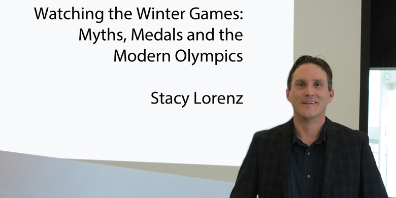 Stacy Lorenz, a physical education professor at the U of A's Augustana Campus in Camrose, says what we think we know about sport is not quite what it seems. As a result, myths play an important role in the modern world of sport.