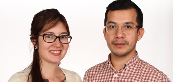 Tandem Program co-founders Jenny Osorio and Hansy Herrera.