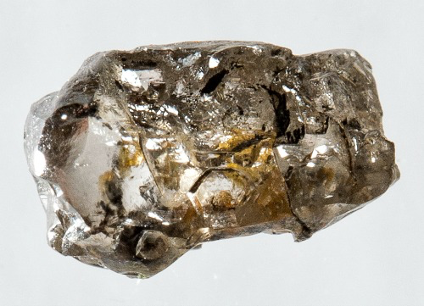The $20 diamond that yielded the ringwoodite sample.