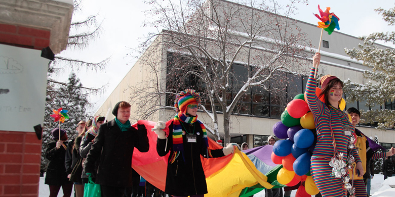 This year's campus pride parade is set to run Friday, March 7.