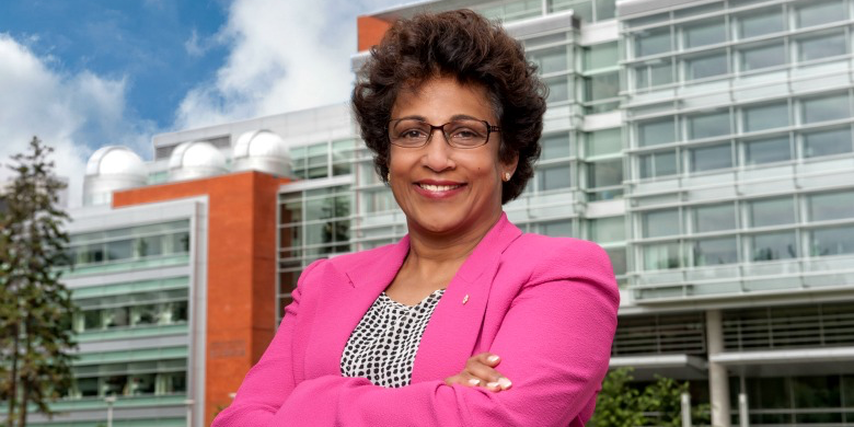 University of Alberta President Indira Samarasekera.