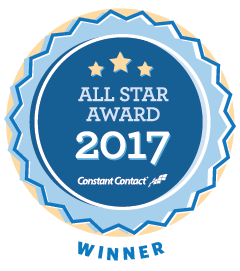 Constant Contact 2017 All Star Winner