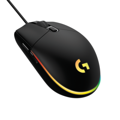 High_Resolution_PNG-G203 LIGHTSYNC Gaming Mouse FOB - BLACK