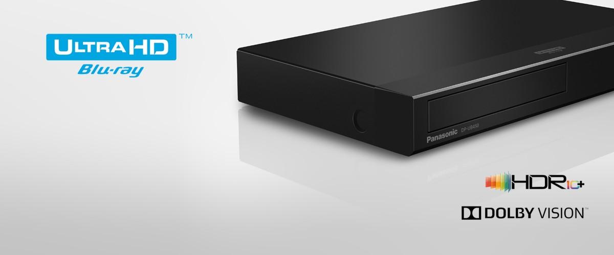 Introducing Panasonic's UB450 and UB150 Blu-ray Players with