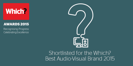 Which? Best Audio Visual Brand 2015