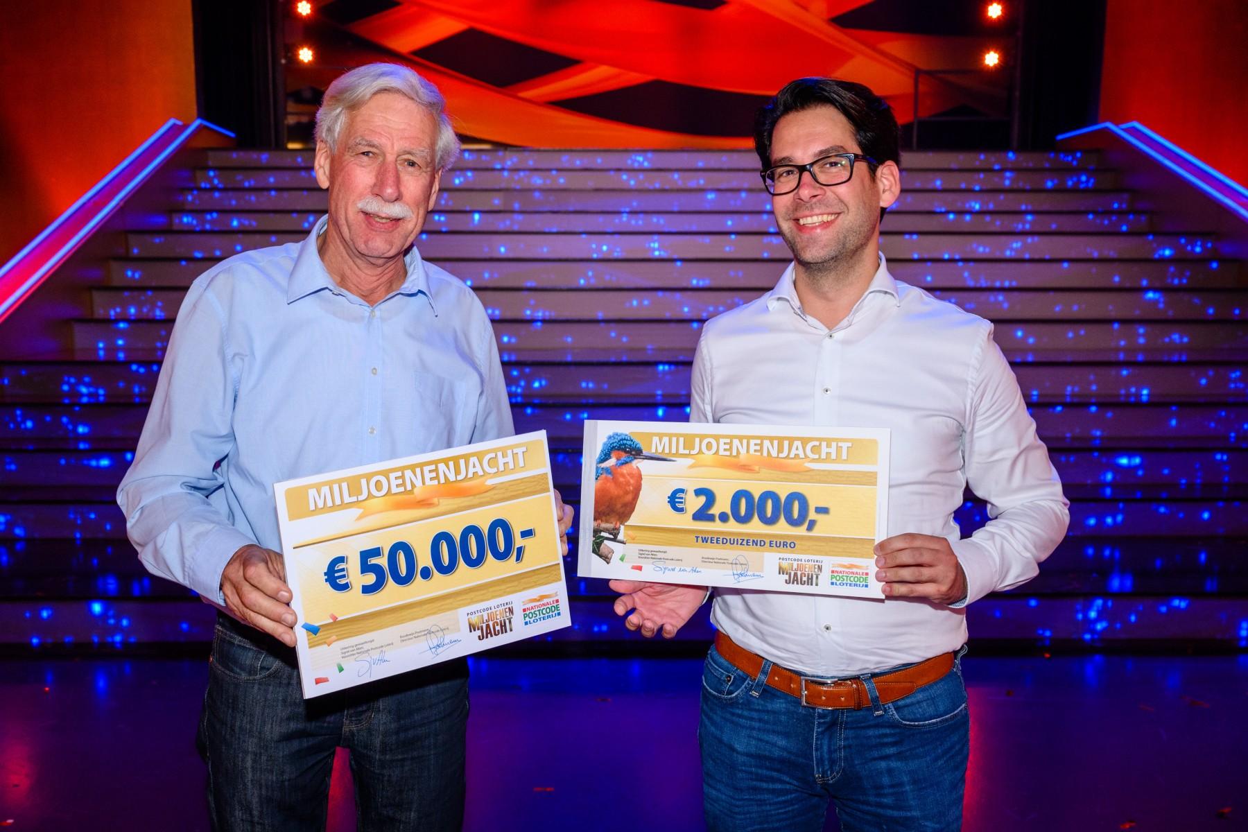 Gouden Bel Levert Coen Uit Blaricum 50 000 Euro Op Bij Tv Show Miljoenenjacht
