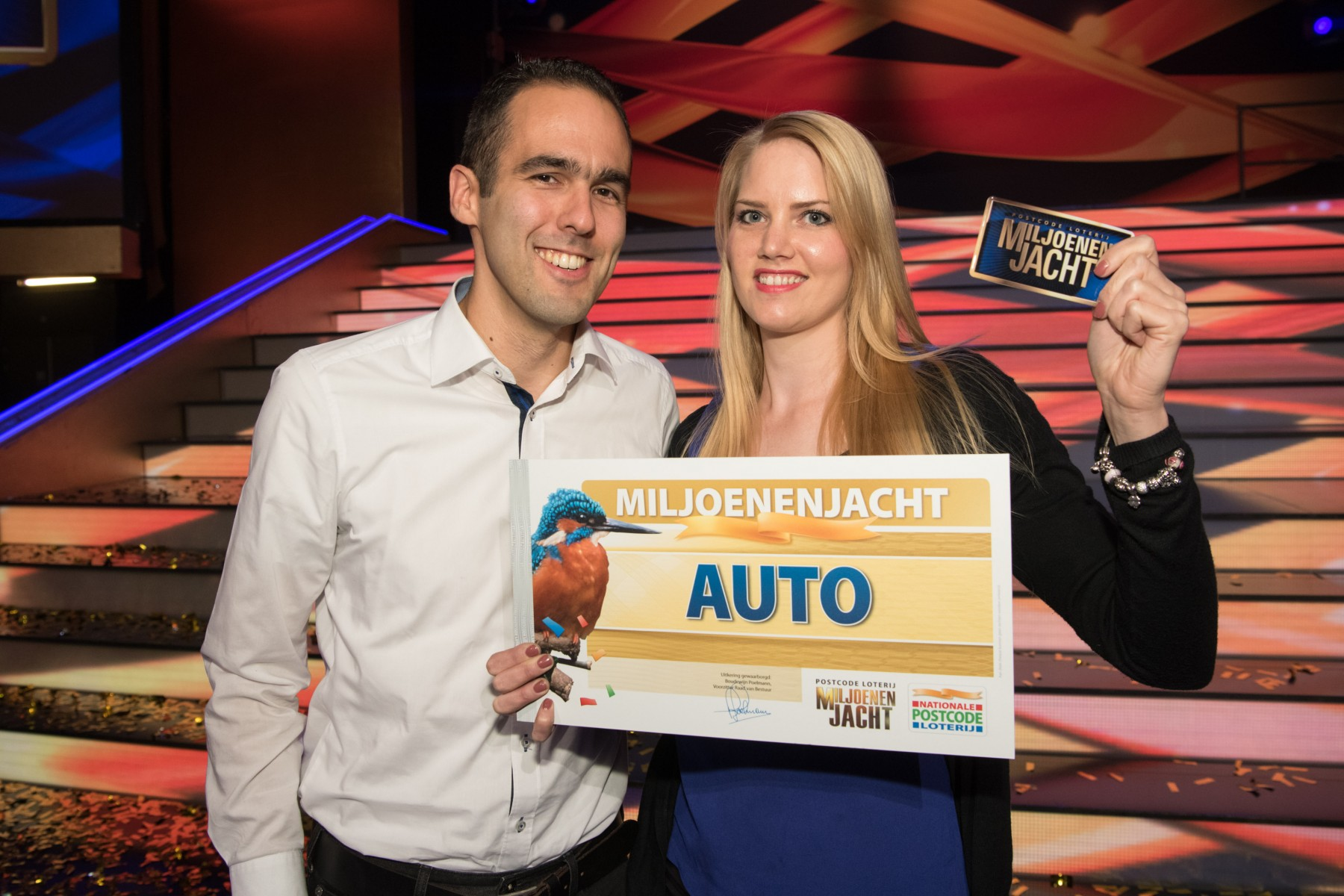 Esther uit Rotterdam wint auto
