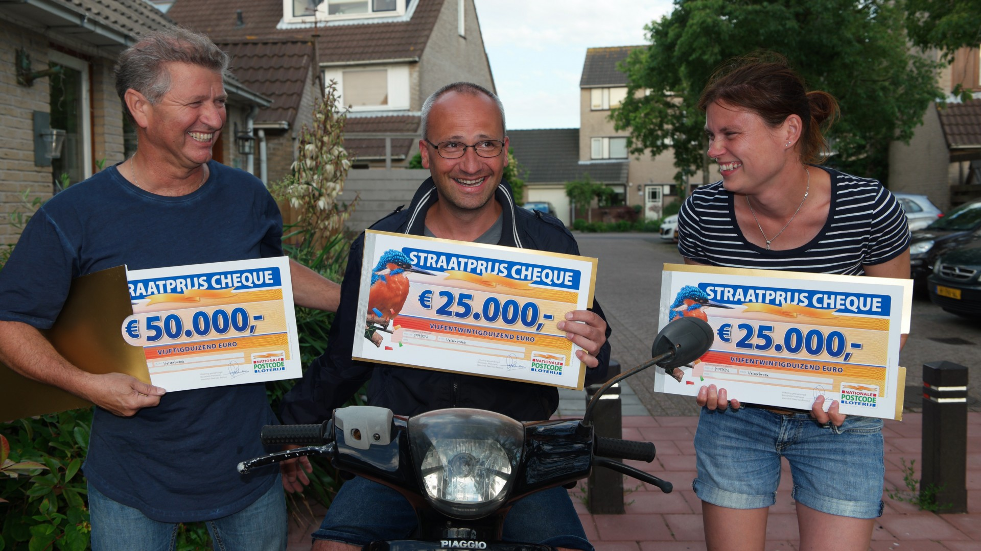Ron, Mike en Wendy uit Velserbroek