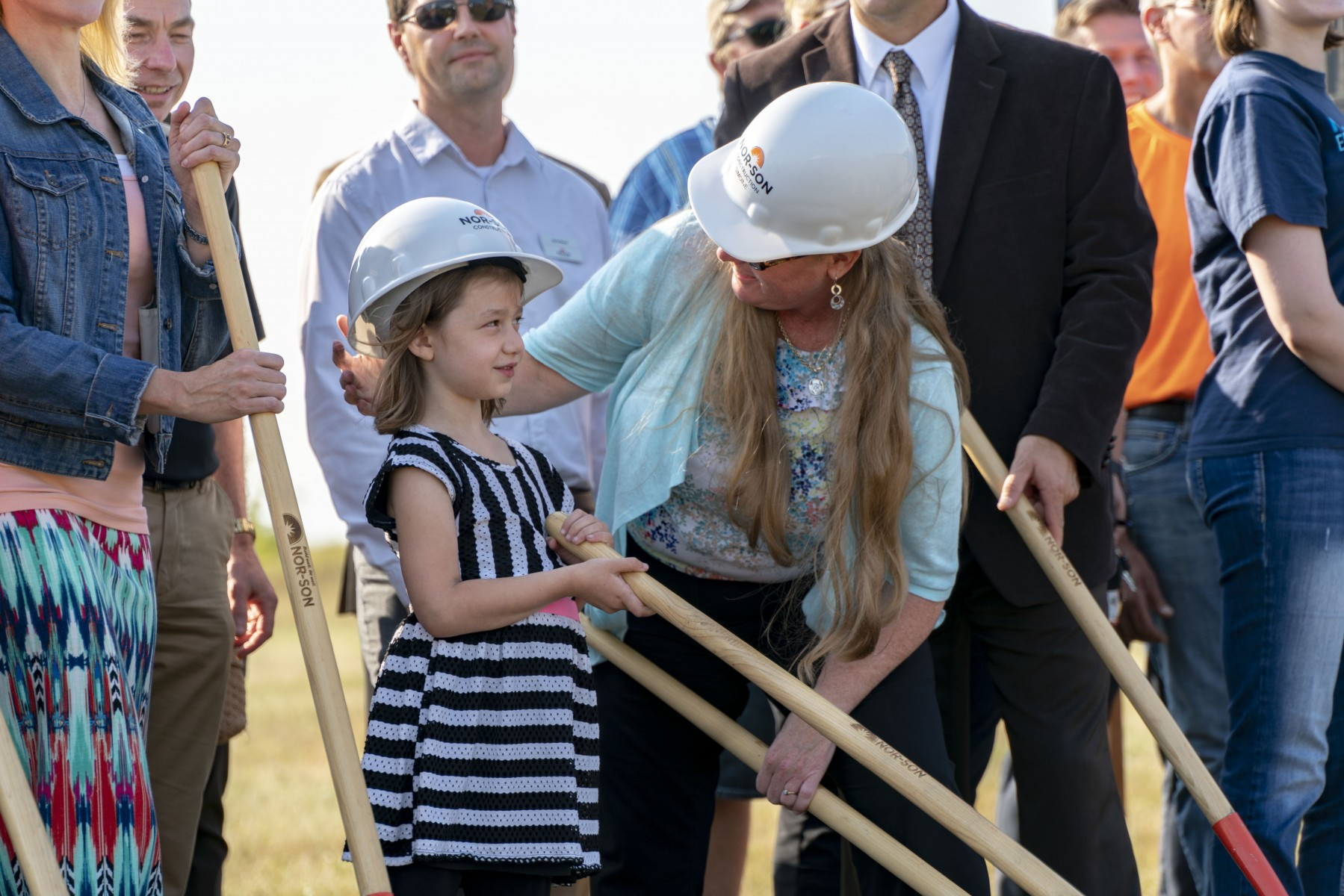 It was a good day to 'throw dirt' as all ages attended Mid-State's groundbreaking event.