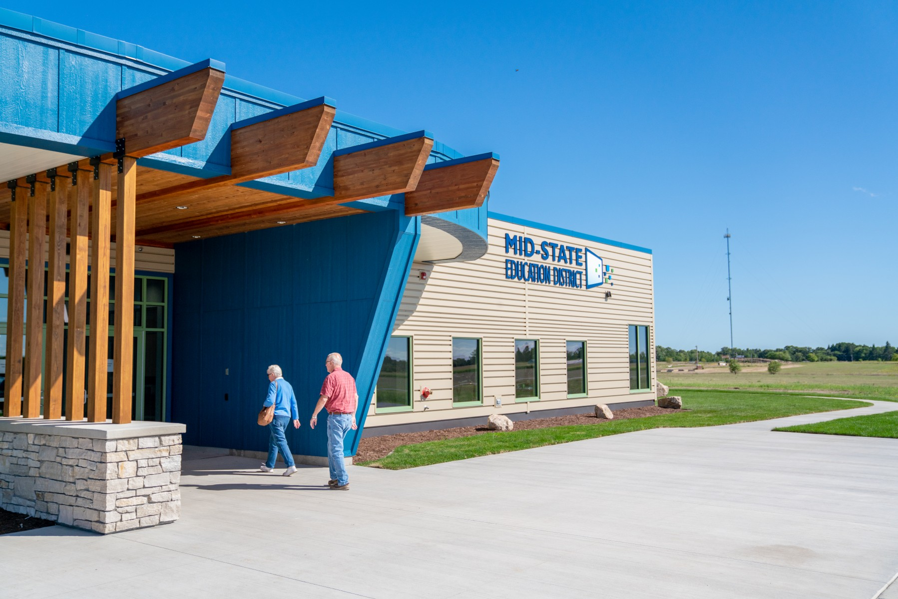 Mid-State Education District opened its Setting IV facility to students in September 2019. Within five years, this will be one of four such facilities funded by Sourcewell.