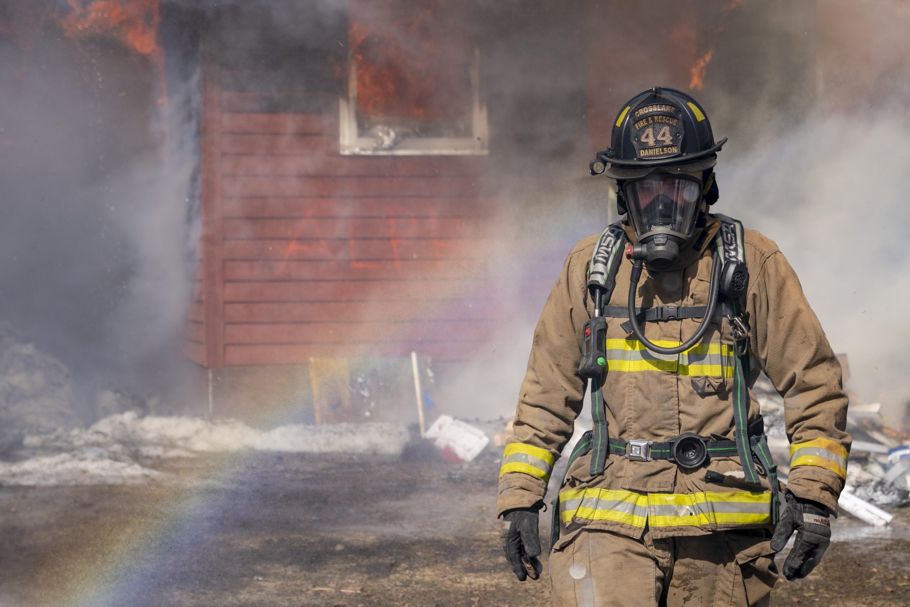 'Calm the Chaos! Mastering Fireground Command,' was a two-day course held at the Brainerd Fire Department in December 2019, designed to help firefighters understand the structure of proper scene command and to work more cohesively.