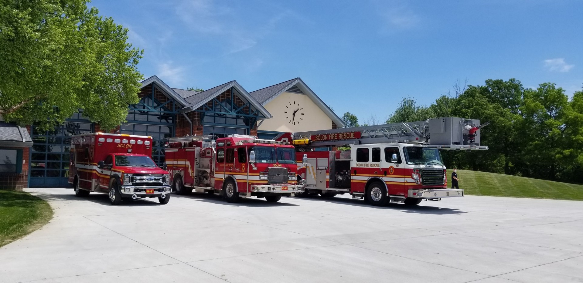 COVID-19 relief dollars helped ignite a renovation project at the Solon (OH) Fire Department.