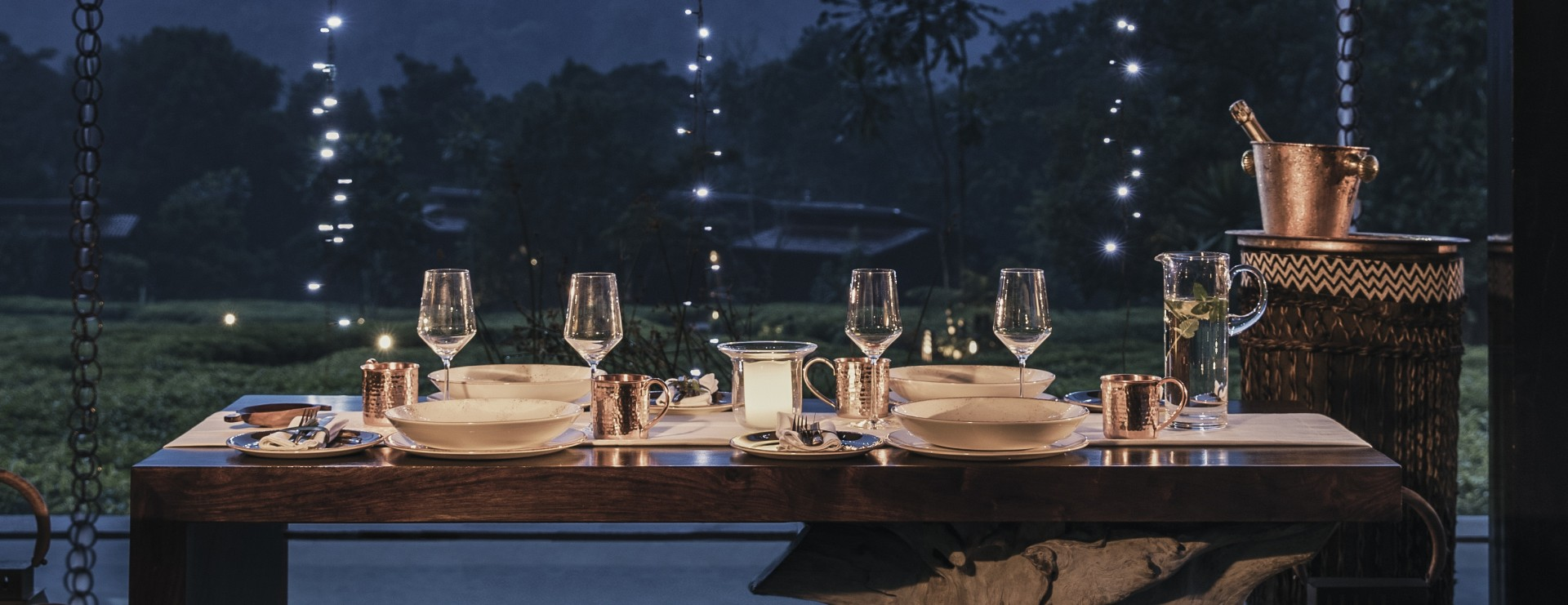 One&Only Nyungwe House  Private Dining