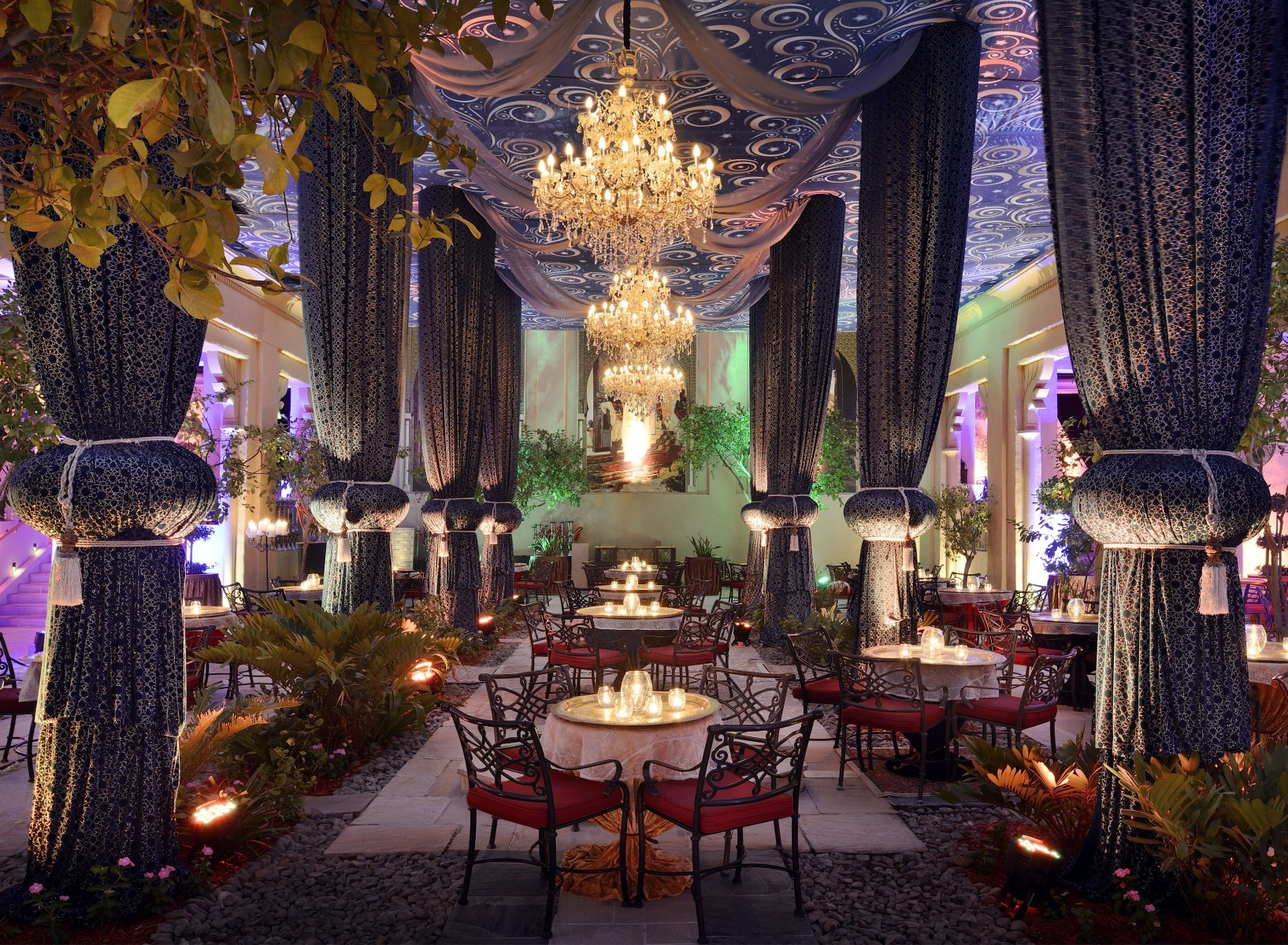 Ramadan Cafe, The Palace Courtyard, One&Only Royal Mirage, Dubai (4)