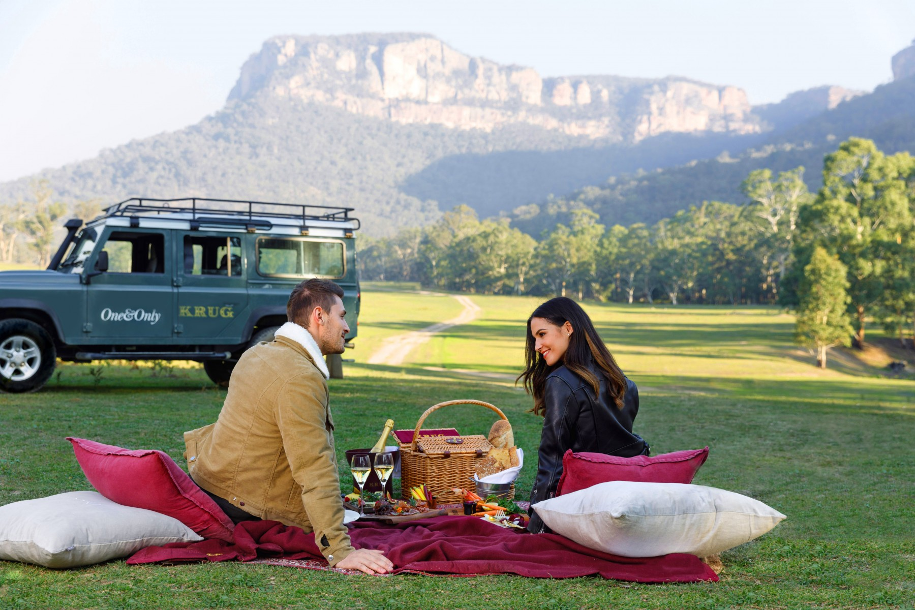 Emirates One&Only Wolgan Valley KRUG Picnic