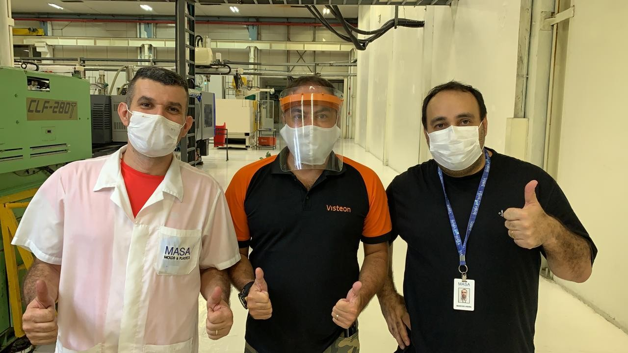 Employees in Manaus, Brazil begin manufacturing of PPE