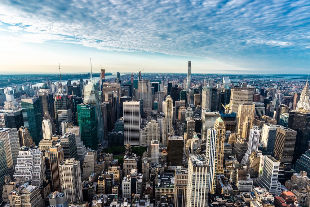 new-york-skyline-blue-sky