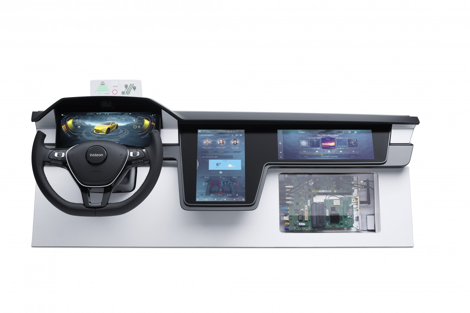 Visteon's SmartCore™ cockpit domain controller with Tencent technology