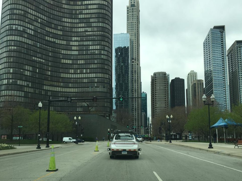 U.S. autonomous test drive to Chicago