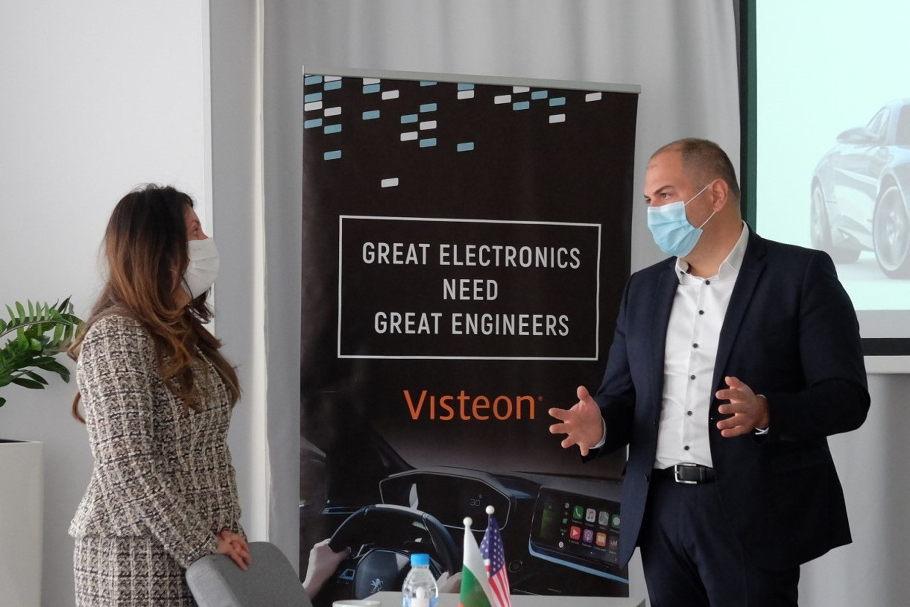 U.S. Ambassador Visits Visteon Bulgaria