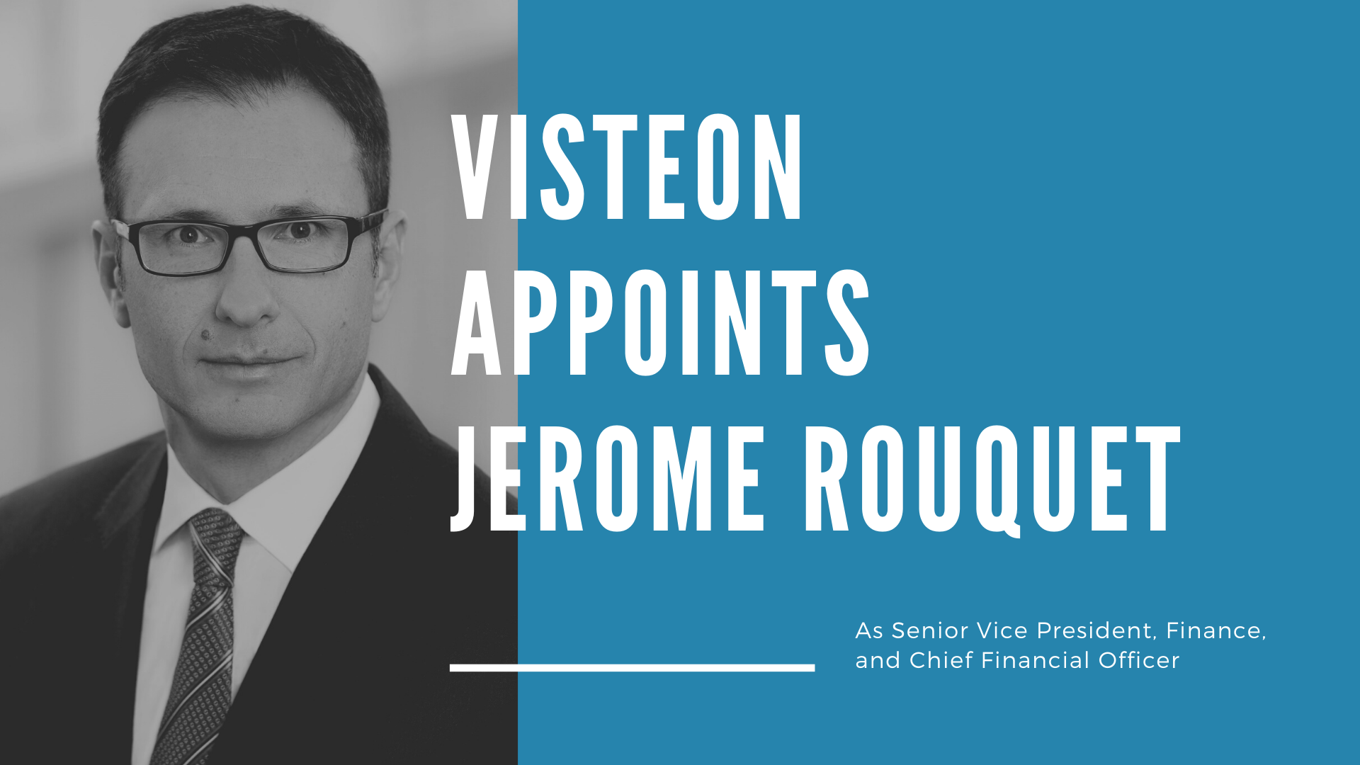 Visteon Appoints Jerome Rouquet