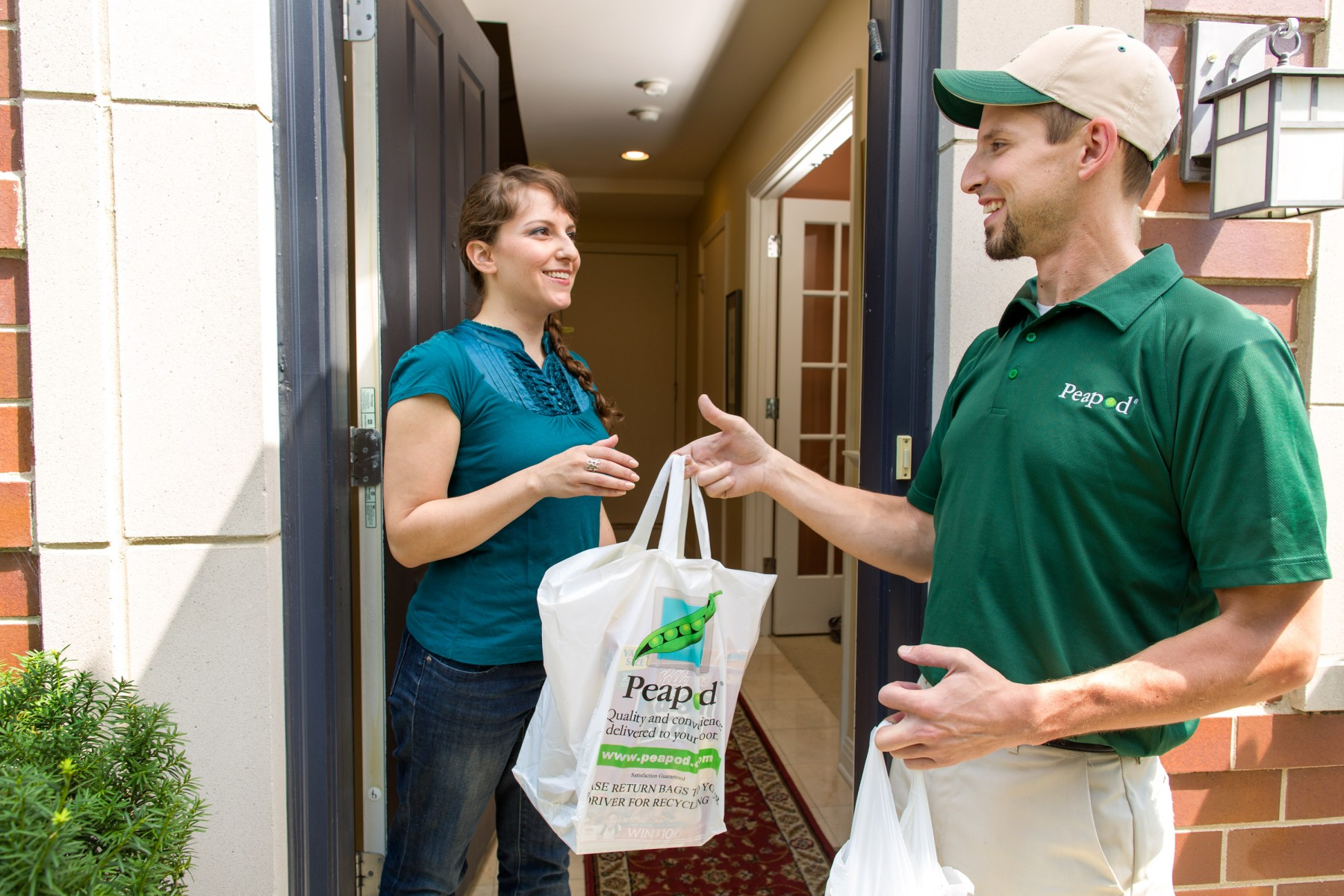 Peapod makes grocery shopping easier than ever with new text
