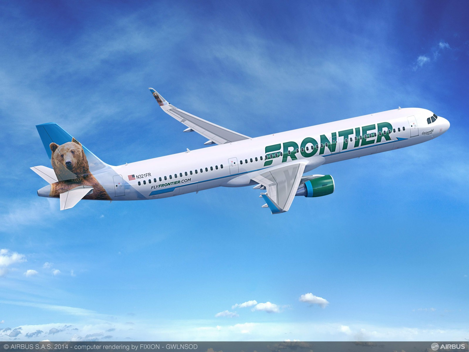 Frontier Airlines Airbus 321