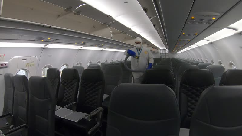 frontier airlines introduces aircraft fogging and customer health acknowledgements frontier airlines introduces aircraft