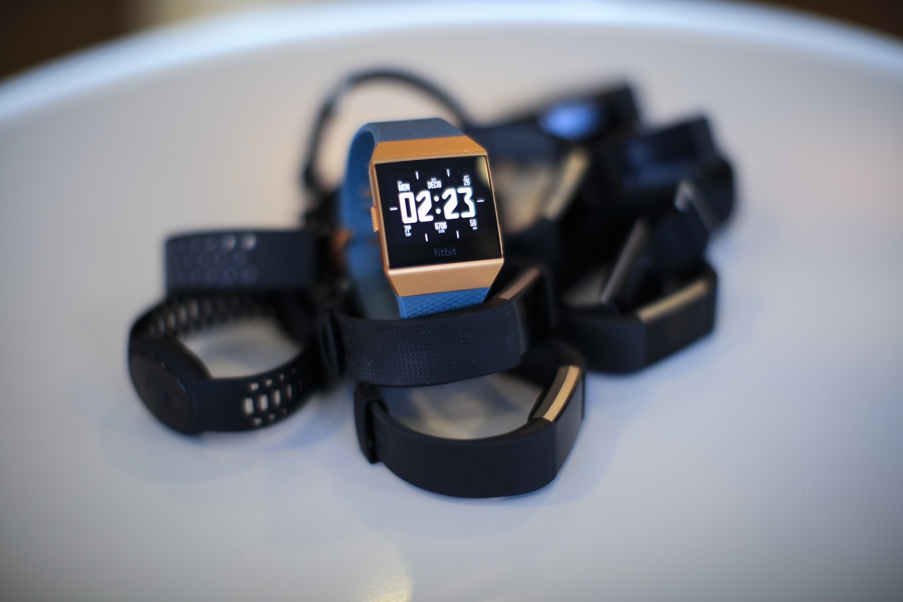 Fitness trackers can help physicians track patients' progress. Photo by Cedars-Sinai.