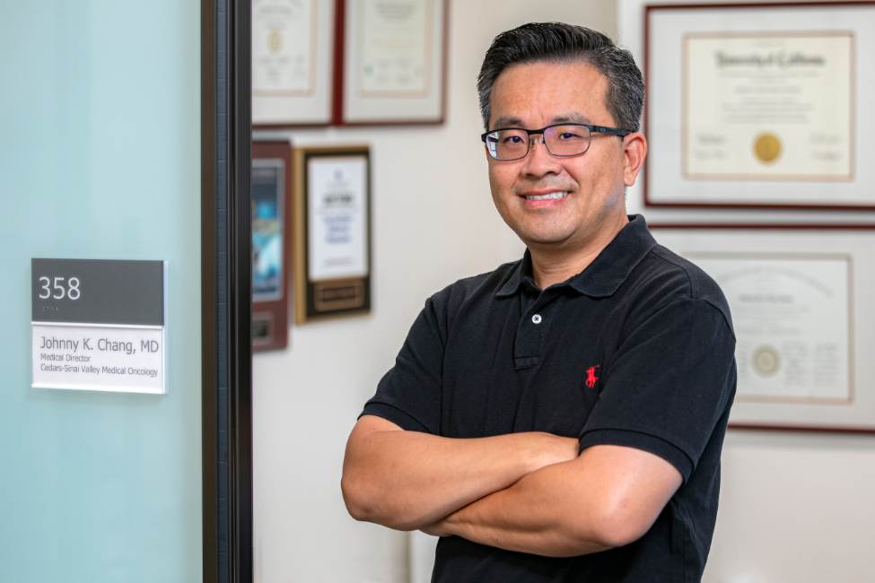 """Cancer typically cannot wait,"" says oncologist Johnny K. Chang, MD, medical director of Cedars-Sinai Cancer-Tarzana. Photo by Cedars-Sinai."