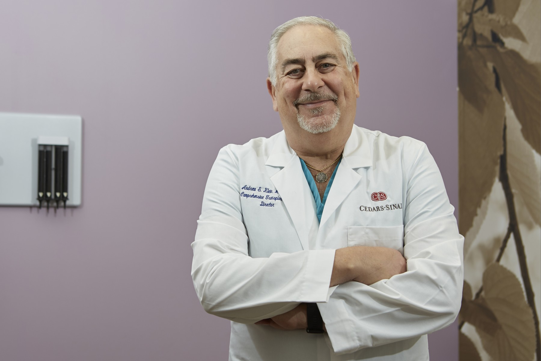 Andrew Klein, MD, MBA, is the 2019 president of the International College of Surgeons, U.S. Section. Photo by Cedars-Sinai.