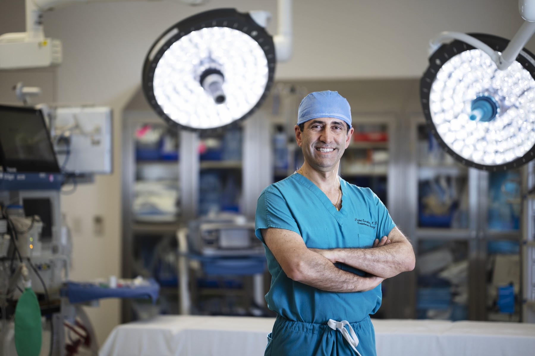 Heart surgeon Fardad Esmailian, MD, is the surgical director of the Heart Transplant Program in the Smidt Heart Institute. Photo by Cedars-Sinai.