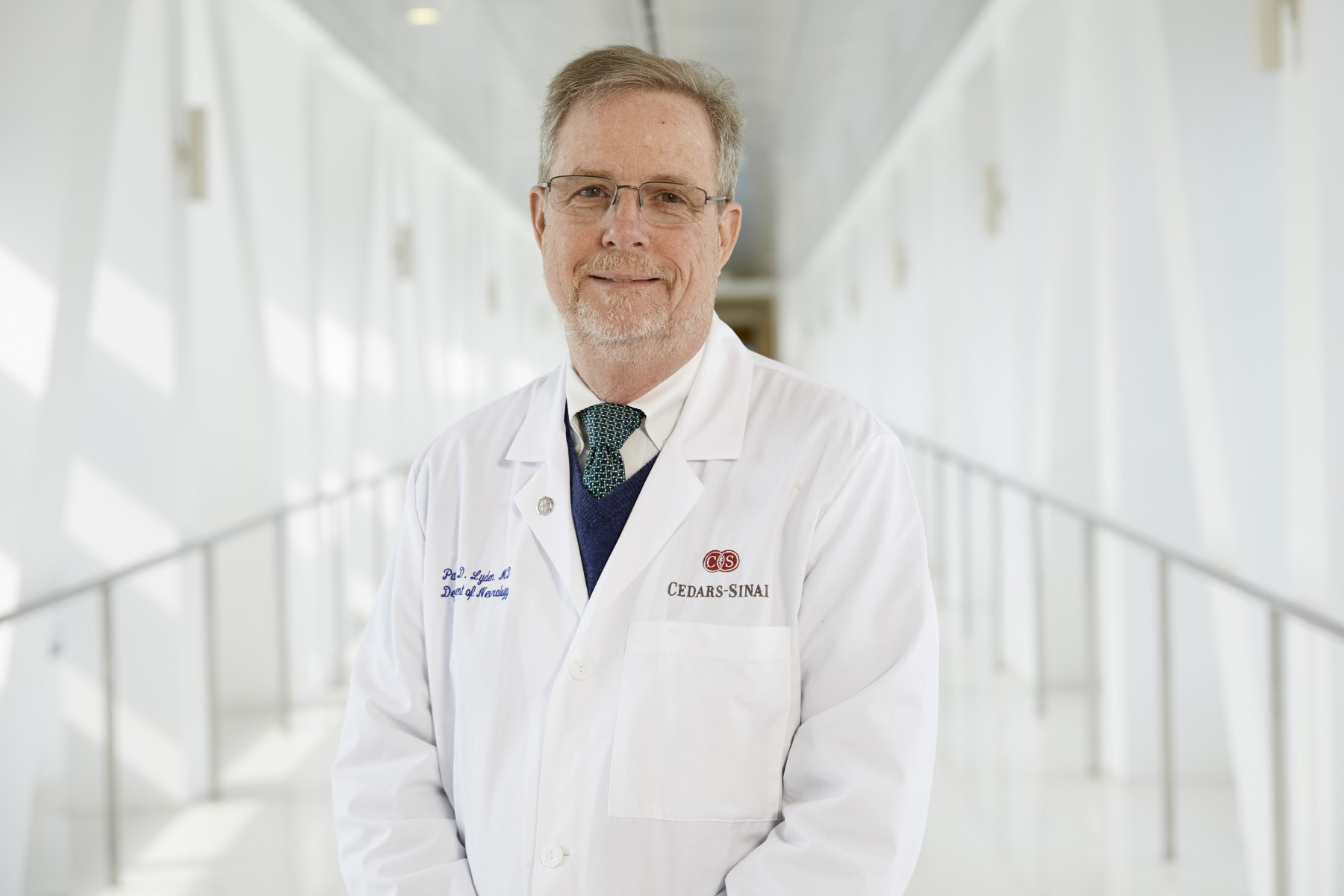 Patrick Lyden, MD, is leading a National Institutes of Health study about strokes. Photo by Cedars-Sinai.