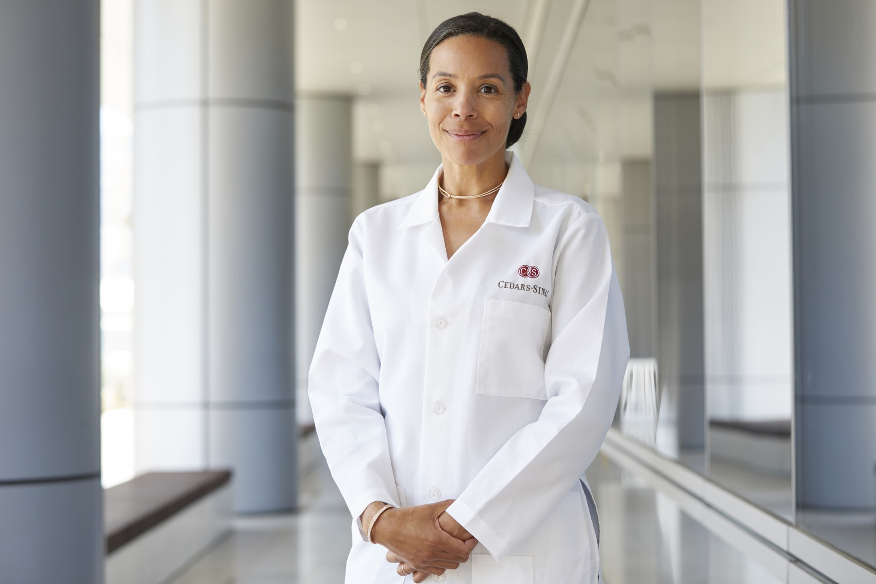Heart surgeon Joanna Chikwe  is the founding chair of the Department of Cardiac Surgery in the Smidt Heart Institute. Photo by Cedars-Sinai.