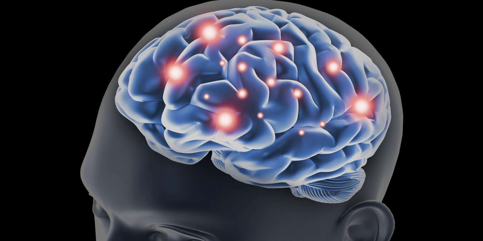 An illustration of the human brain. Illustration by Getty.