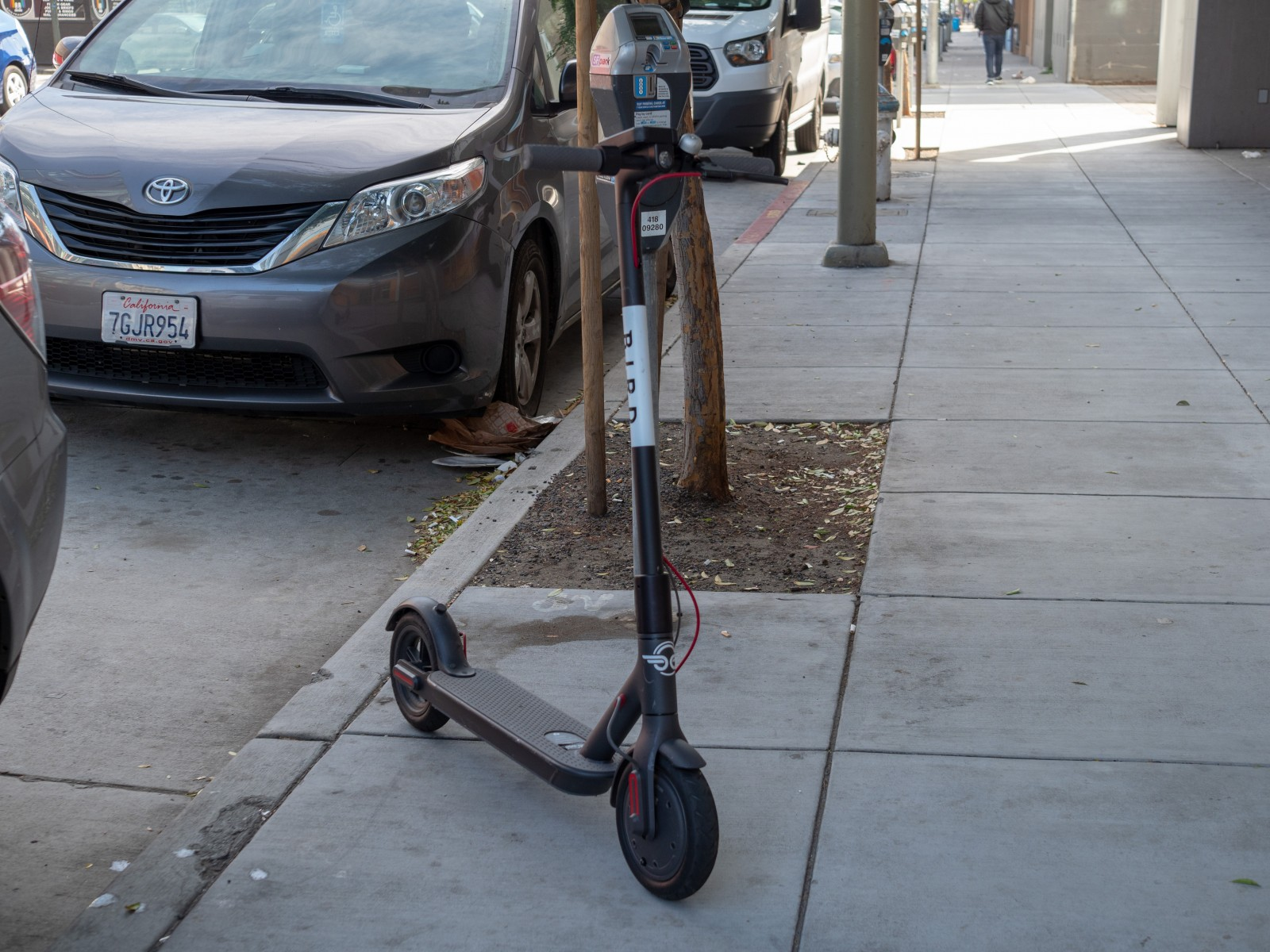 Electric scooters are good transportation alternatives if users are careful and wear protective gear. Photo by Getty Images.