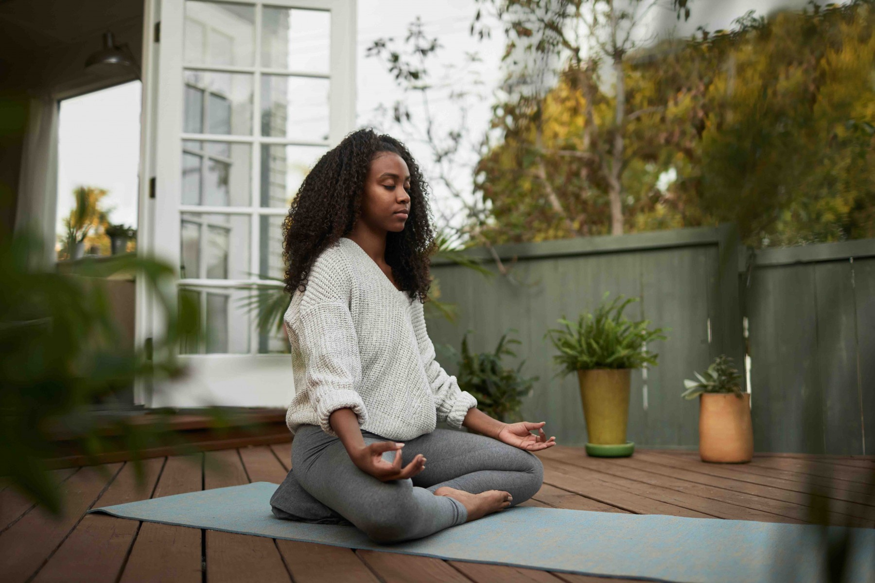 Yoga is useful to many migraine patients because it involves meditation, says Ilan Danan, MD MSc, a neurologist and pain management specialist at the at Cedars-Sinai Kerlan-Jobe Institute. Photo by Getty Images.