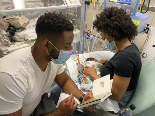 Storytime Benefits Babies, Parents in Neonatal Intensive Care Unit